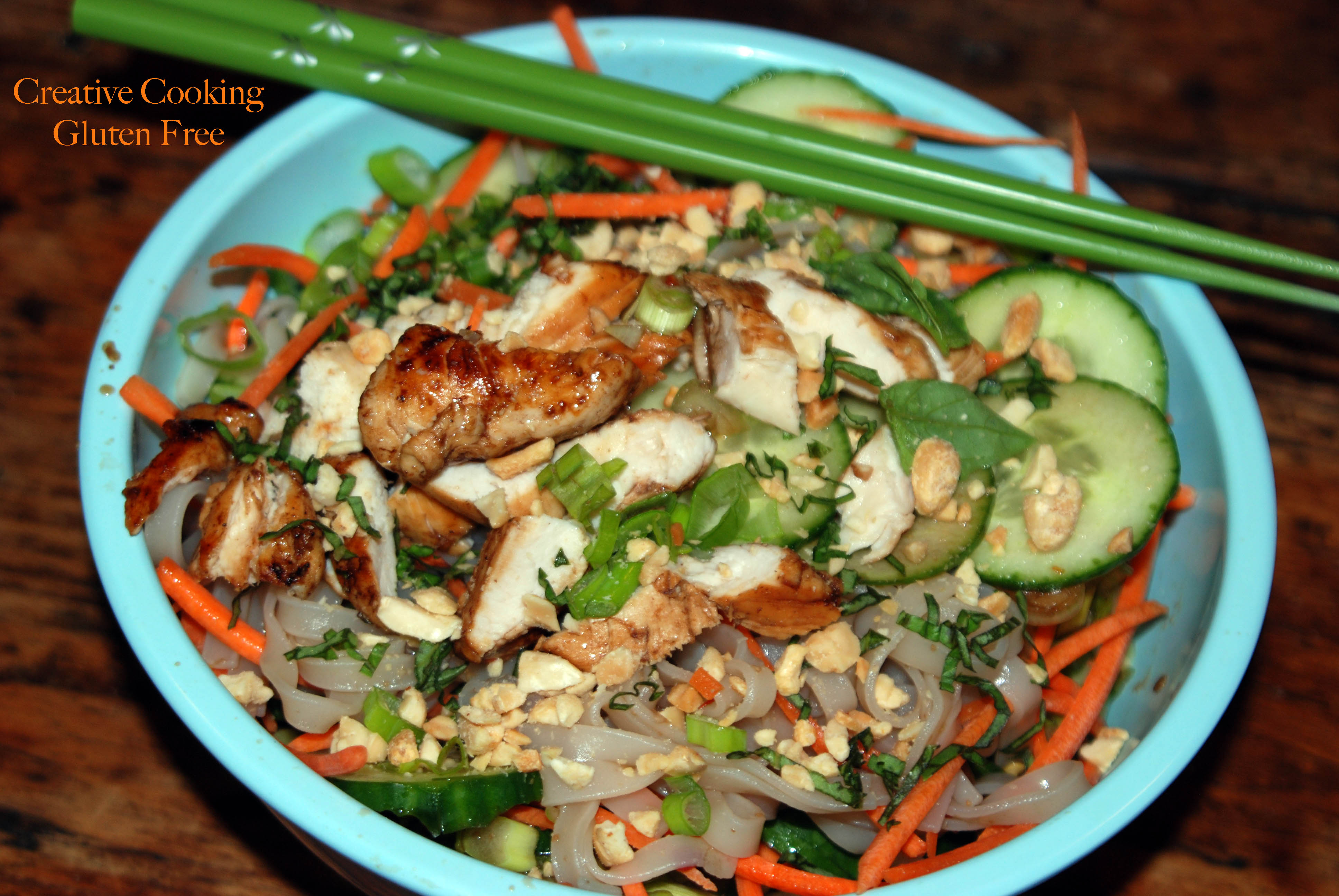 Thai Chicken And Noodle Salad Recipe — Dishmaps