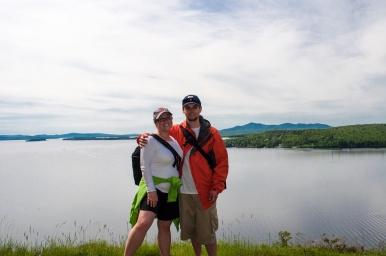 Bryan and I on Mt. Kineo