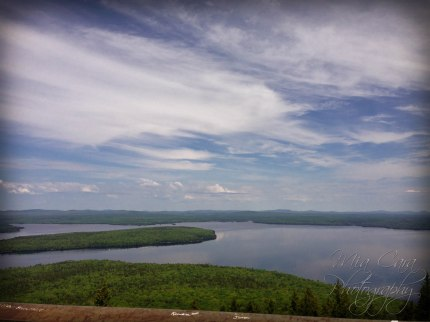 Breathtaking view from the top of the fire tower