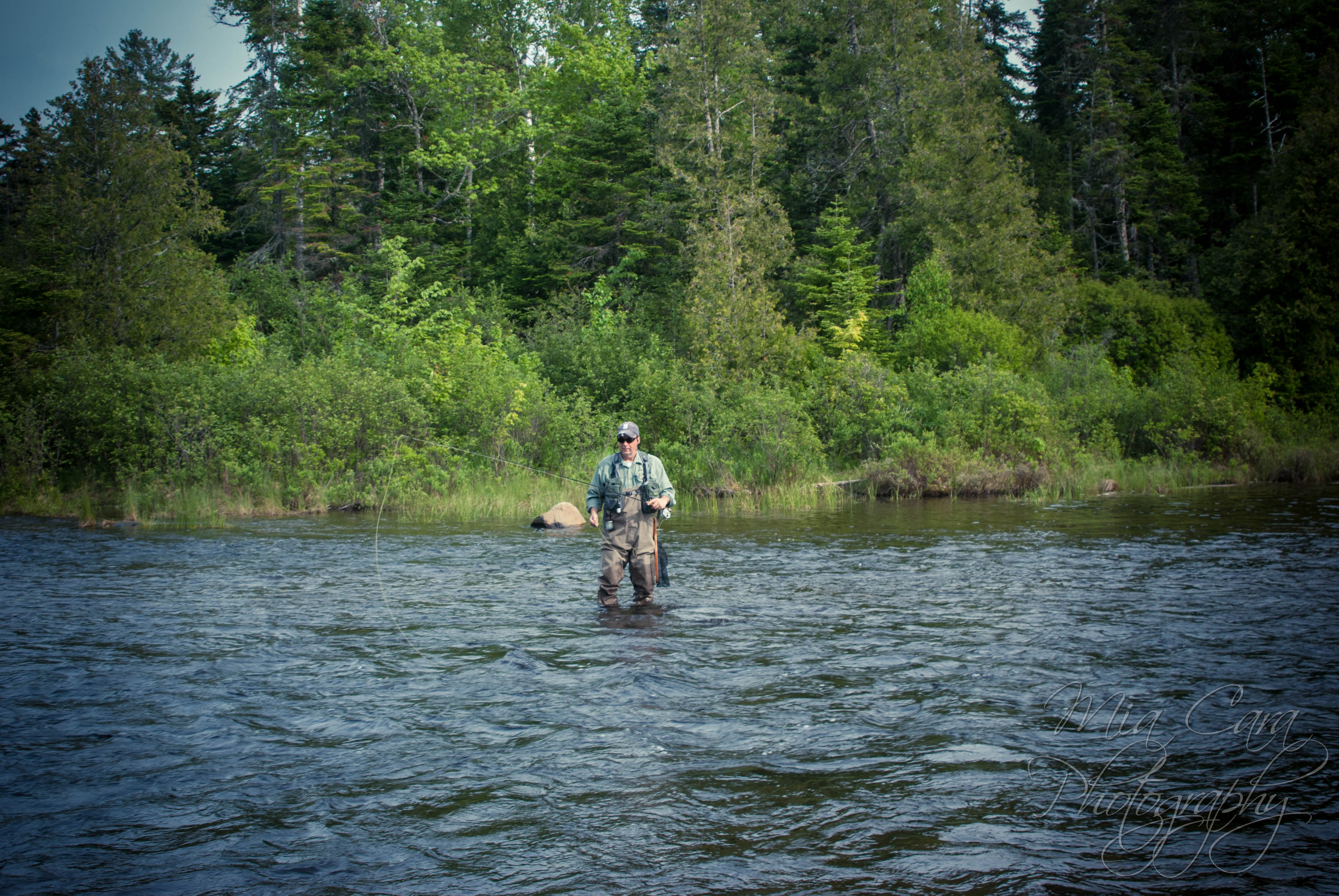 outdoor adventures fly fishing in maine
