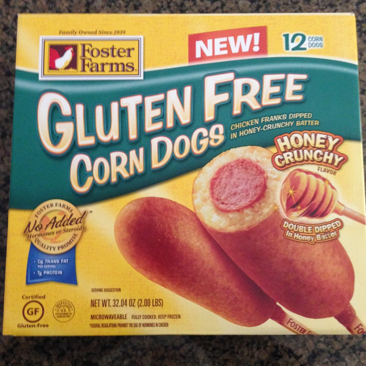 foster farms corn dog oven cooking instructions