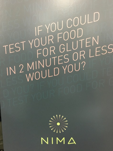 Nima - gluten testing at your fingertips, yes please