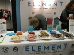 Another favorite, Element snacks
