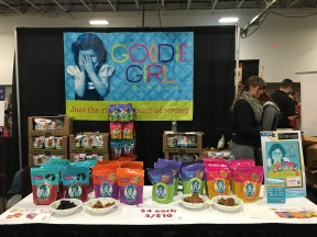 It is always a pleasure to see Goodie Girl Cookies - we love their cookies